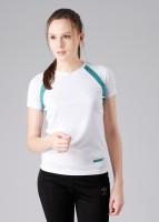 Wildcraft Solid Women's V-neck T-Shirt