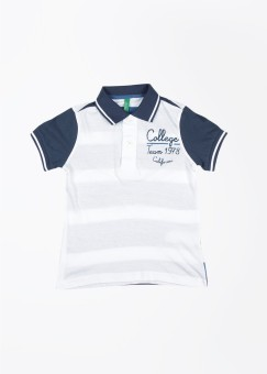 United Colors Of Benetton Solid Boy's Polo T-Shirt - TSHE5N6HWGEGYPJ8