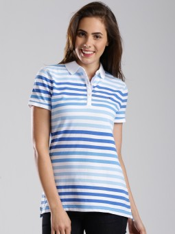 Tommy Hilfiger Striped Women's Polo T-Shirt