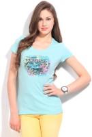 Puma Printed Women's Round Neck T-Shirt - TSHDX7UBZZUX7GQJ
