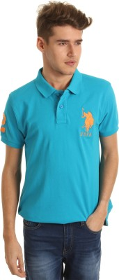 U.S.Polo Assn. Solid Men,s Polo T-Shirt