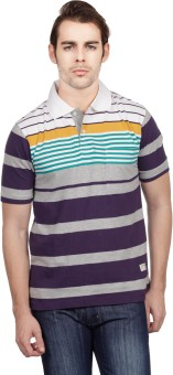 Compare Duke Polo Striped Men T-shirt: T-Shirt at Compare Hatke