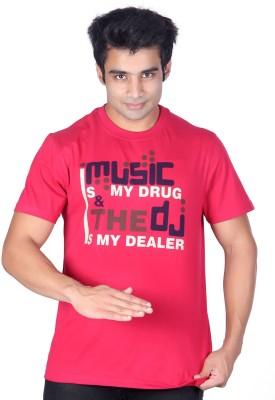 Ektarfaa Printed Men's Round Neck T-Shirt