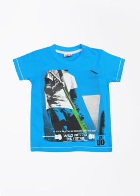 UFO Printed Boy's Round Neck T-Shirt
