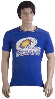 Mumbai Indians Printed Men's Round Neck T-Shirt