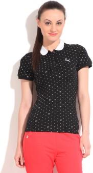 Puma Polka Print Women's Polo T-Shirt