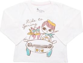 Max Graphic Print Girl's Round Neck T-Shirt - TSHE4CERG5MAGU6Y