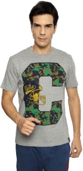 Ajile By Pantaloons Printed Men's Round Neck T-Shirt - TSHE8YZVNHWKAFAG