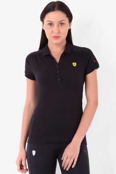 Puma Solid Women's Polo T-Shirt