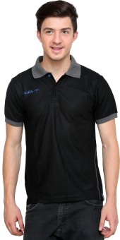 Dida Sportswear Contrast Collar Solid Men's Polo T-Shirt
