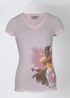 Lotto Printed Women's V-neck T-Shirt