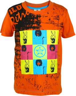 UFO Graphic Print Boy's Round Neck T-Shirt - TSHE7FZVZWRERZ5G