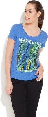Out of Print Printed Women's Round Neck T-Shirt