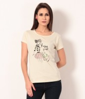 TSG Breeze Printed Women's Round Neck T-Shirt - TSHDXW5K7AGURHXG