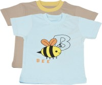 TSG My Kid Printed Baby Boy's, Baby Girl's Round Neck T-Shirt (Pack Of 2) - TSHED8AUZCVZK3RY