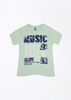 United Colors Of Benetton Boy's T-Shirt - TSHE5N6HPHC3FKGN