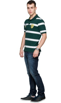 Max Striped Men's Polo T-Shirt