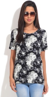 Van Heusen Printed Women's Round Neck T-Shirt