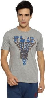 Ajile By Pantaloons Printed Men's Round Neck T-Shirt - TSHE8YZVKQ5NENZD
