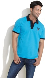 Club York Solid Men's Polo T-Shirt
