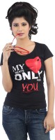 TeesTadka Printed Women's Round Neck T-Shirt - TSHDXG2PYQSVF6YV