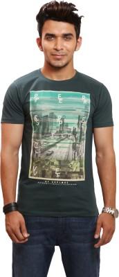 Maxzone Graphic Print Men's Round Neck T-Shirt