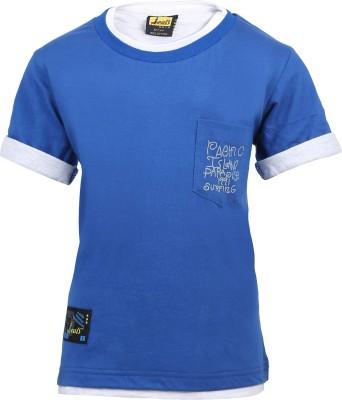 Seals Solid Boy's Round Neck T-Shirt