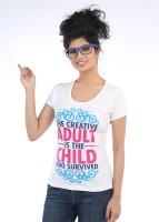 TeesTadka Printed Women's Round Neck T-Shirt - TSHDYCT2AN43QDAA