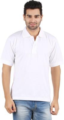 Gnj Solid Men's Polo Neck T-Shirt