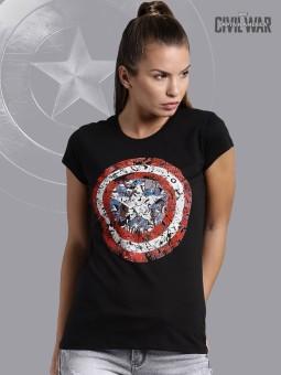 Kook N Keech Marvel Graphic Print Women's Round Neck T-Shirt - TSHEGFJFUZ3HAVZY
