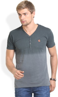 Thisrupt Solid Men's V-neck T-Shirt