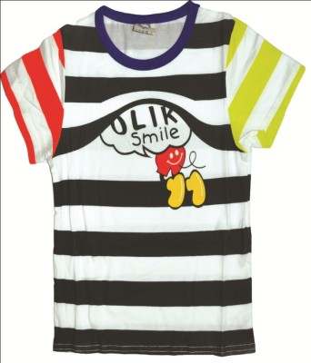 Babyaddis Printed Boy's Round Neck T-Shirt