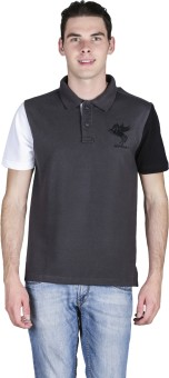 Spunk Solid Men's Polo T-Shirt