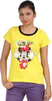 DK Clues Graphic Print Women's Round Neck T-Shirt
