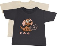TSG My Kid Printed Baby Boy's, Baby Girl's Round Neck T-Shirt (Pack Of 2) - TSHED8BJPMPPFZHF