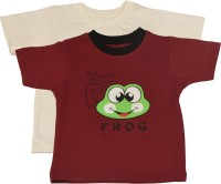 TSG My Kid Printed Baby Boy's, Baby Girl's Round Neck T-Shirt (Pack Of 2) - TSHED8AUGBGCGGSX