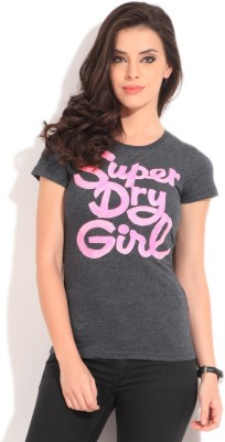 SUPERDRY Printed Women's Round Neck T-Shirt
