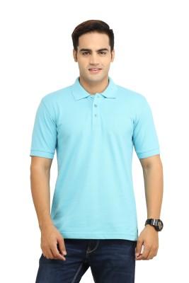 WallWest Solid Men's Polo Neck T-Shirt