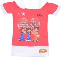 Chhota Bheem Printed Girl's Round Neck T-Shirt - TSHDU8UXWDAFEGZB