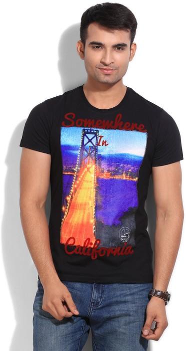 Wear Your Mind Printed Men's Round Neck T-Shirt - TSHEYP4TCQVTAJMF