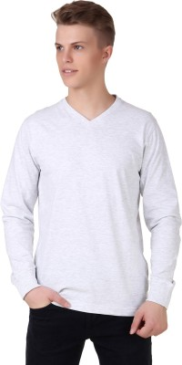 Aventura Outfitters Solid Men,s V-neck T-Shirt