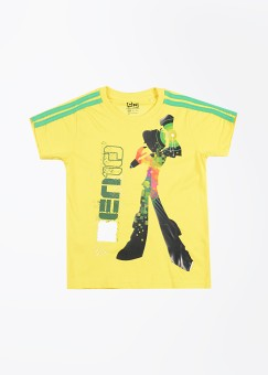 Ben 10 Printed Boy's Round Neck T-Shirt