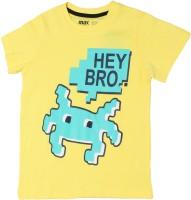 Max Printed Boy's Round Neck T-Shirt