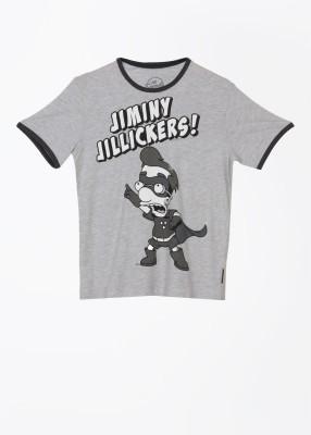 Simpsons Printed Men's Round Neck T-Shirt