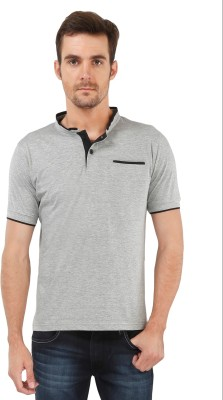 The Cotton Company Solid Men's Henley T-Shirt