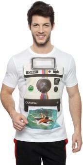 Ajile By Pantaloons Printed Men's Round Neck T-Shirt - TSHE7ZYHWHUV5HJF