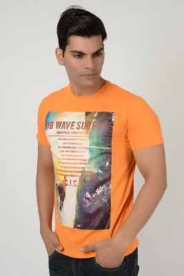 Style My Way Printed Men's Round Neck T-Shirt