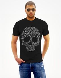 Monzter Popcornz Graphic Print Men's Round Neck T-Shirt