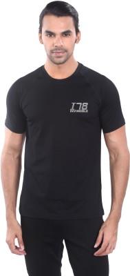 Invincible Solid Men,s Round Neck T-Shirt