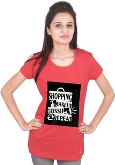 Khabardaar.com Printed Women's Round Neck T-Shirt